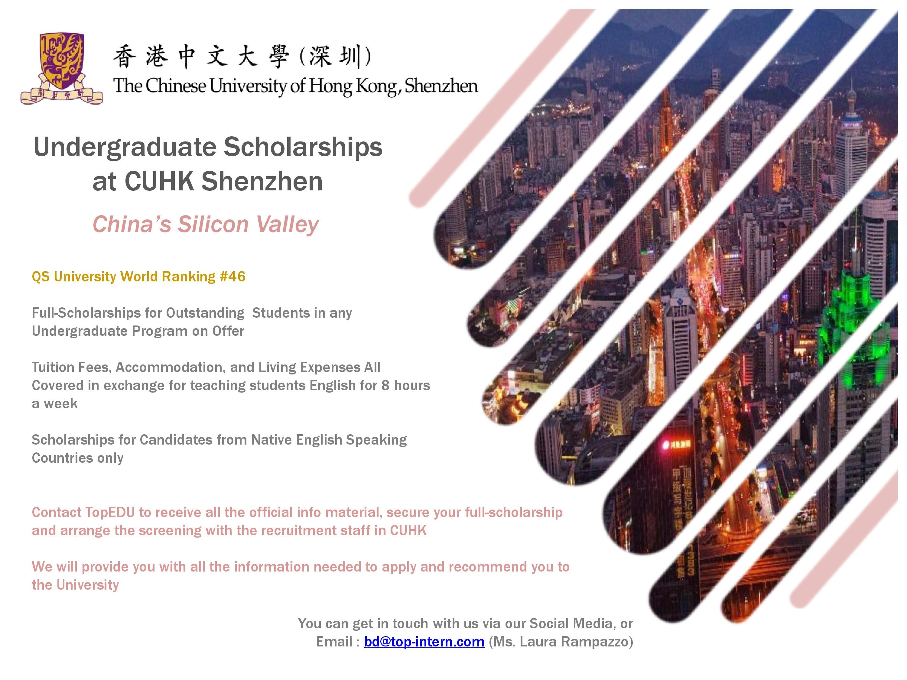 Come Study In China On A Full Scholarship Study In China