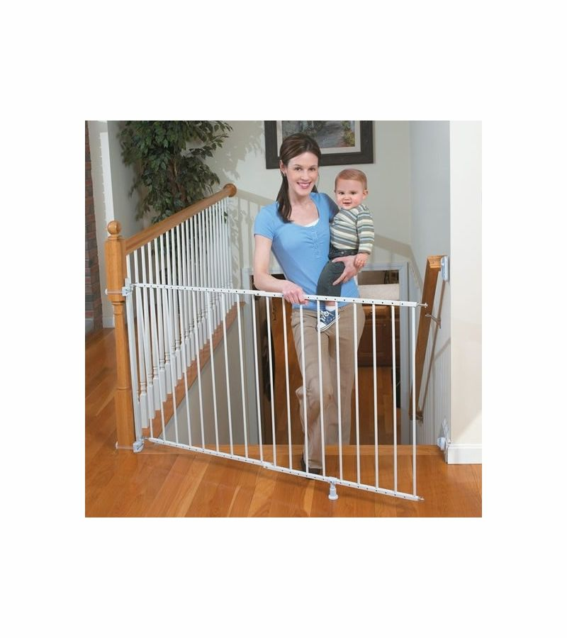 Summer Infant Sure U0026 Secure Extra Tall Top Of Stairs Gate With Banister Kit