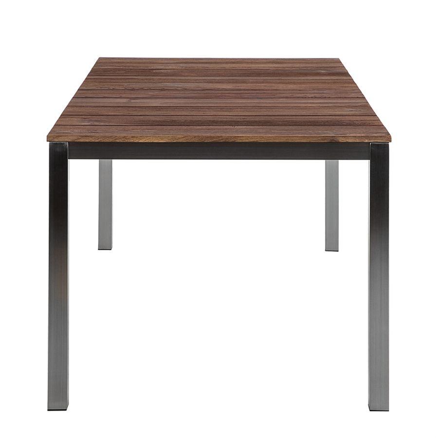 tavolo da giardino concept neo antique i - legno teak/acciaio inox ... - Tavolo Da Giardino In Legno Teak