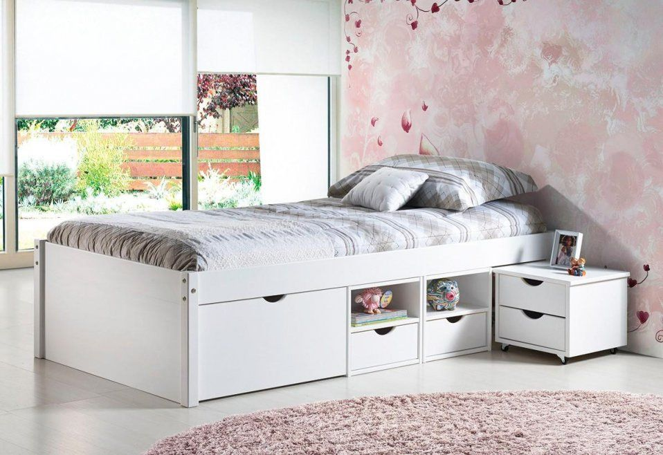 Betten Schubladen Bett 140x200 Mit Gebraucht Schublade Ikea In 2020 Bett Mit Schubladen Funktionsbett Bett Ideen