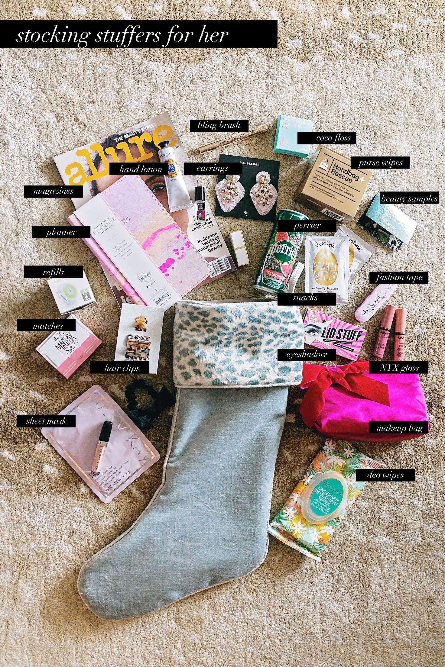 COF stocking stuffers for her 2017 #giftguide #stockingstuffersformen
