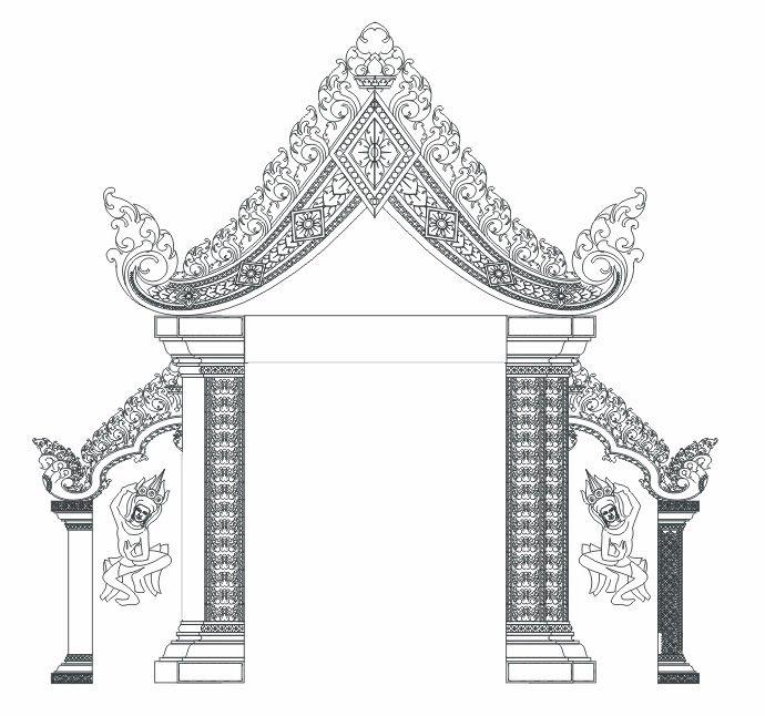 Cambodia Ornament In 2019