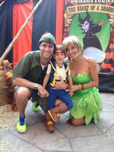 cute disney peter pan family costume