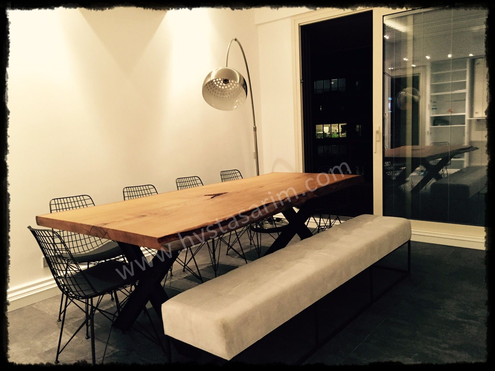 Kütük masa, ağaç masa, doğal ahşap masa / Bilenor Orman Ürünleri San ...