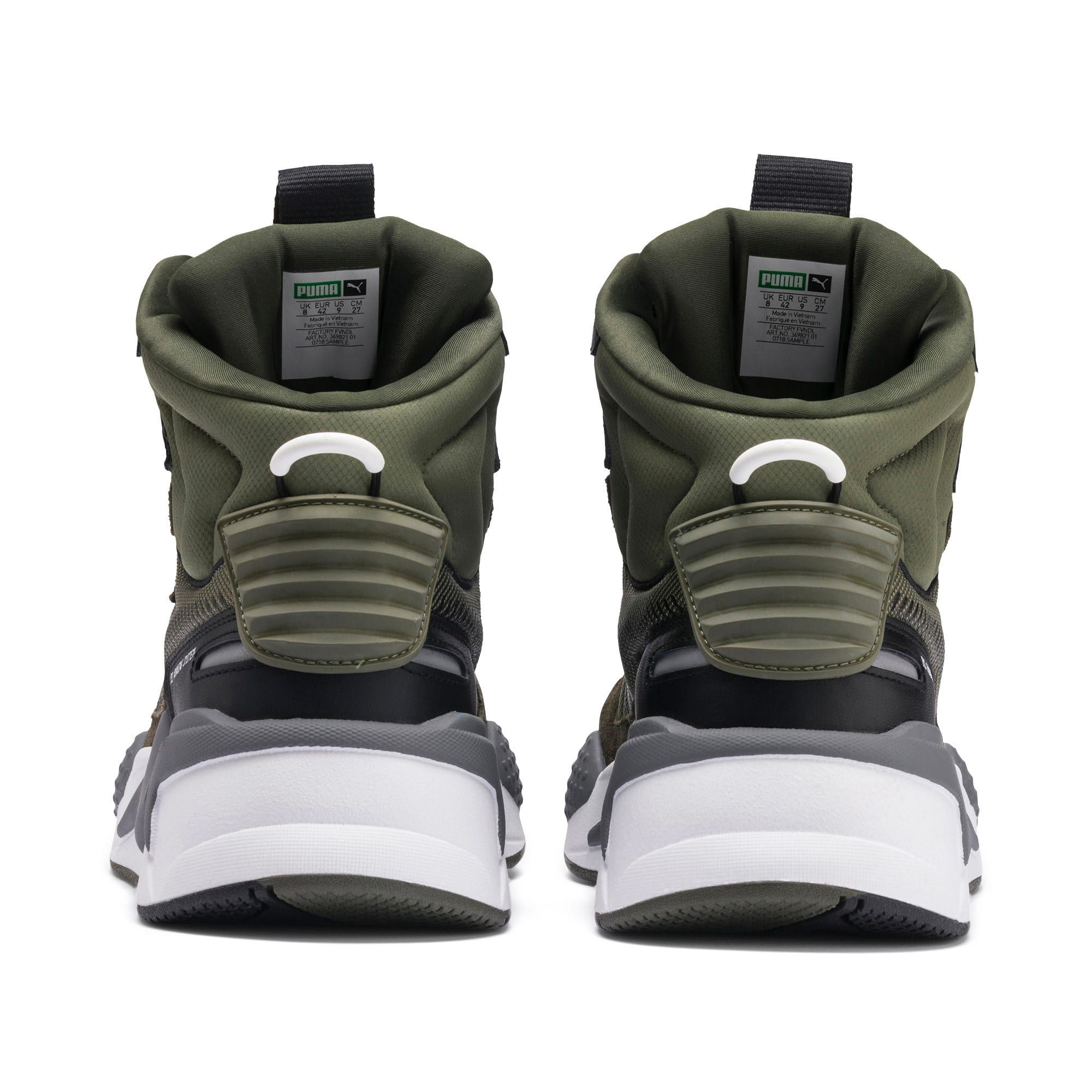 RS X Midtop Utility Trainers Pumas sko, l?r, trenere  Pumas shoes, Leather, Trainers