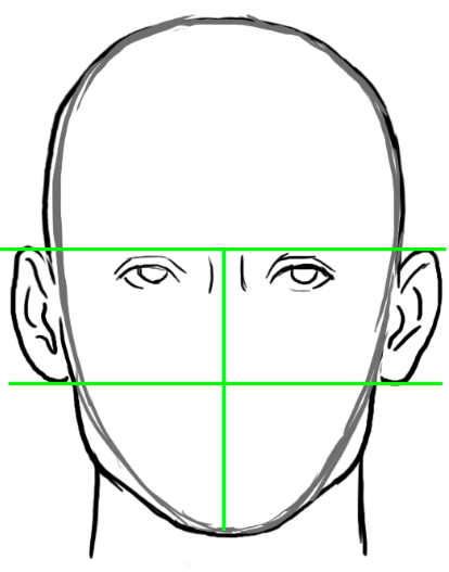 how to draw ears simple