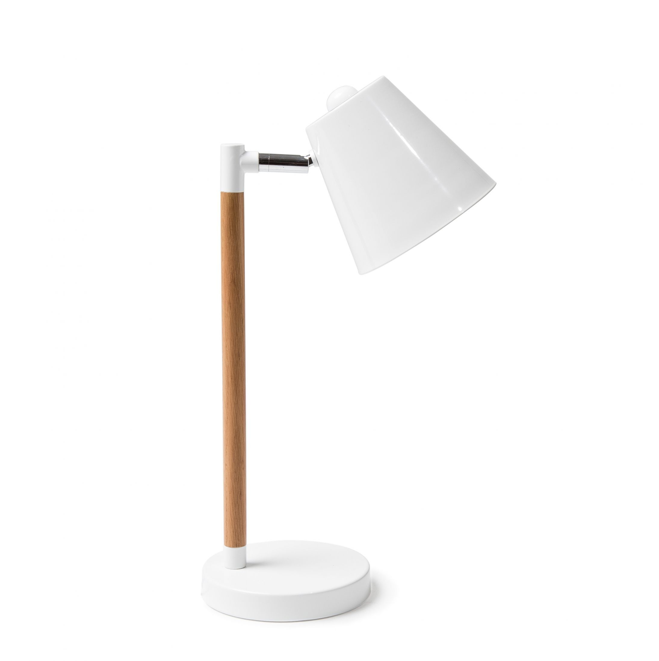 The Factory Table Lamp Is A Simple Task Lamp Resembling Minimal Design Wood And White Metal Offer A Table Lamp Small Table Lamp Lamp