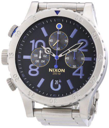 Watch Links Nixon Purple: Nixon 4820 Chronograph Midnight GT