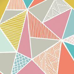 Geometric Shapes Pattern Google Search Wallpaper Design