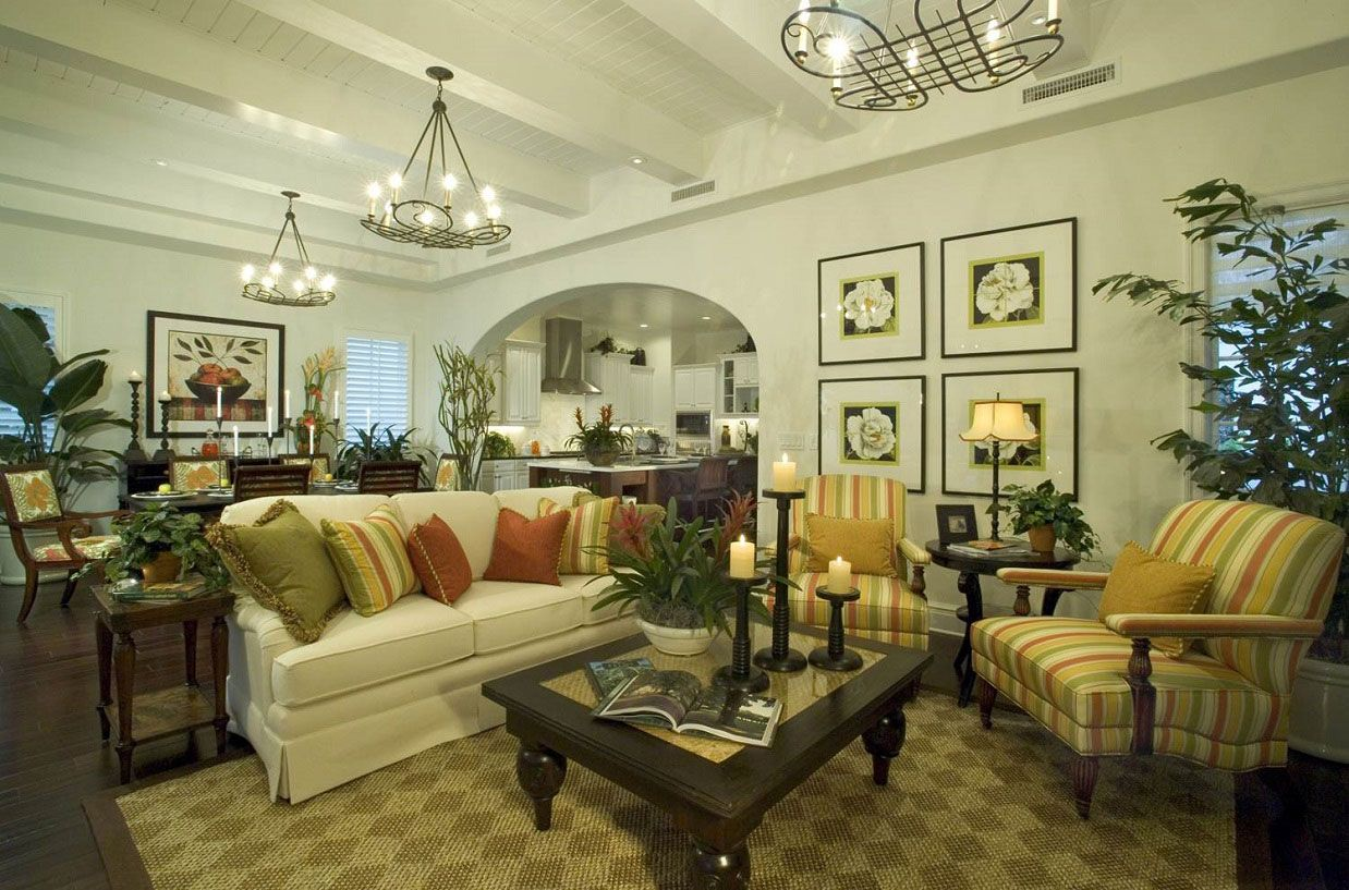 French Country Living Room Ideas. I like the comfortable feel and ...