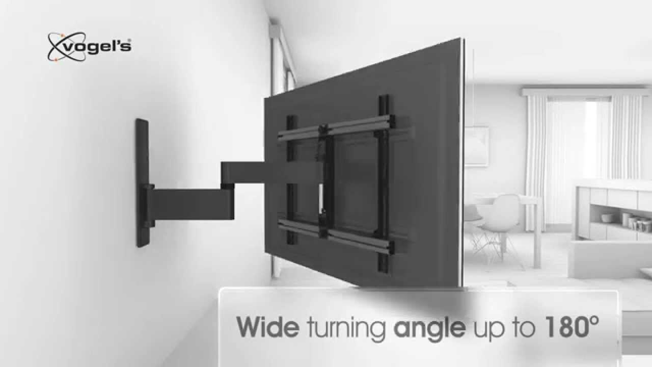 Vogel S Wall Full Motion Tilt Any Wall Mounted Tv 180 Degrees Full Motion Tv Wall Mount Tv Wall Tv Wall Mount Bracket