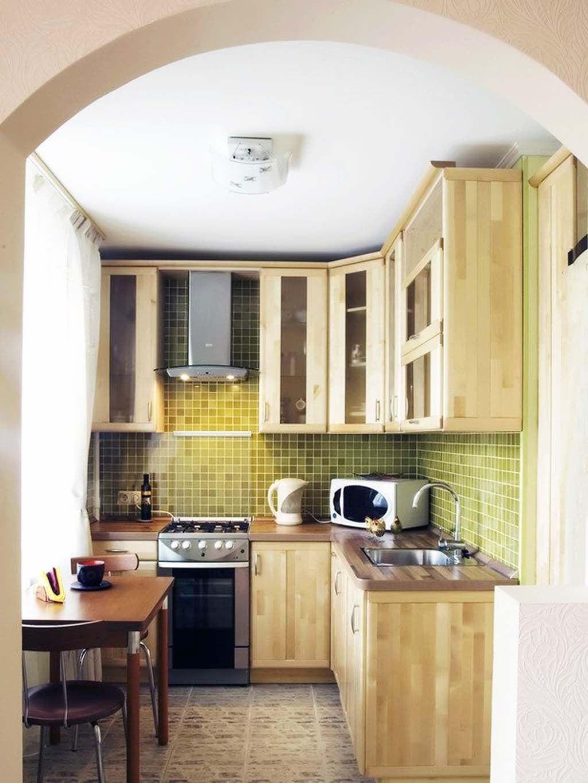 Desain Dapur Ukuran Kecil Kitchen Home Home Decor