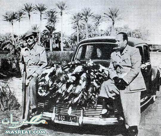 الملك فاروق الأول وهو يصطاد البط حول بحيرة قارون بالفيوم Egyptian History Old Egypt Egypt