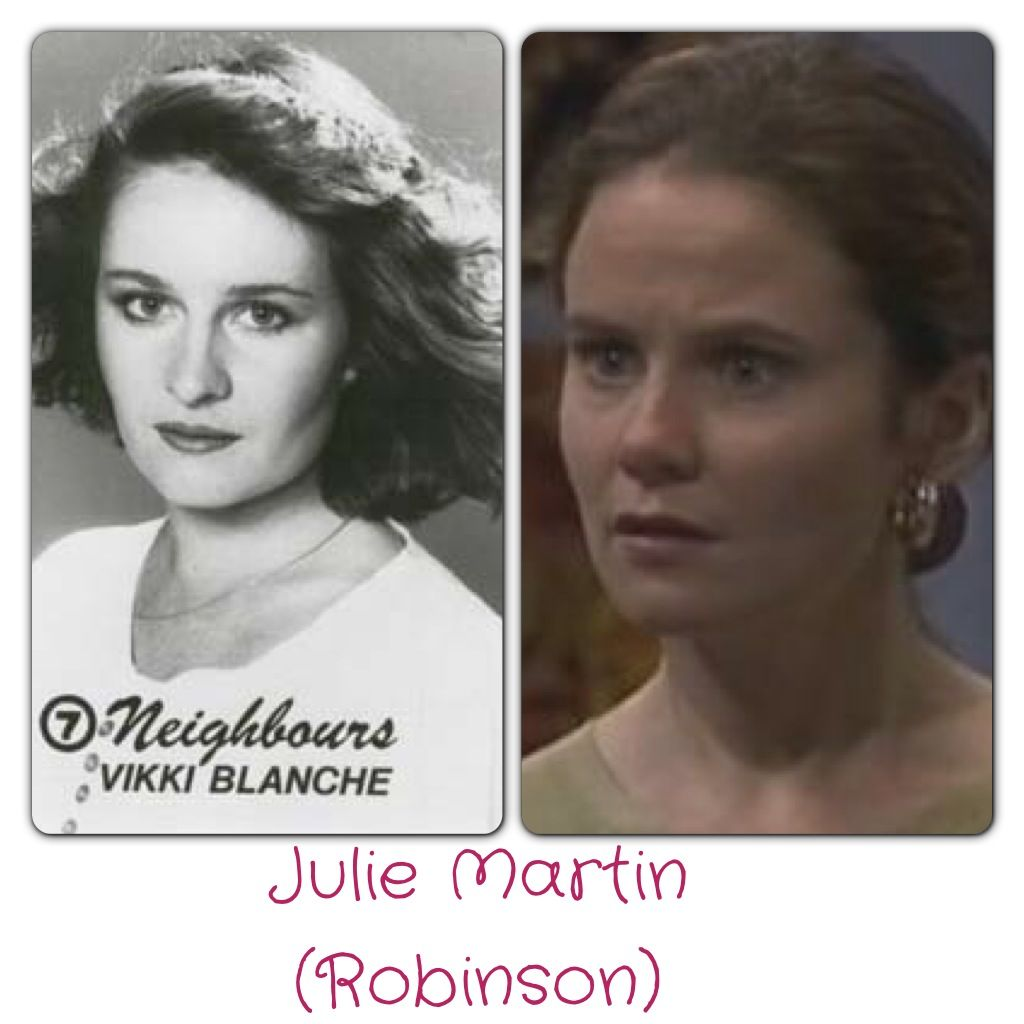 Julie Martin (nee Robinson) Vikki Blanche - 1985 Julie Mullins - 1992-1994