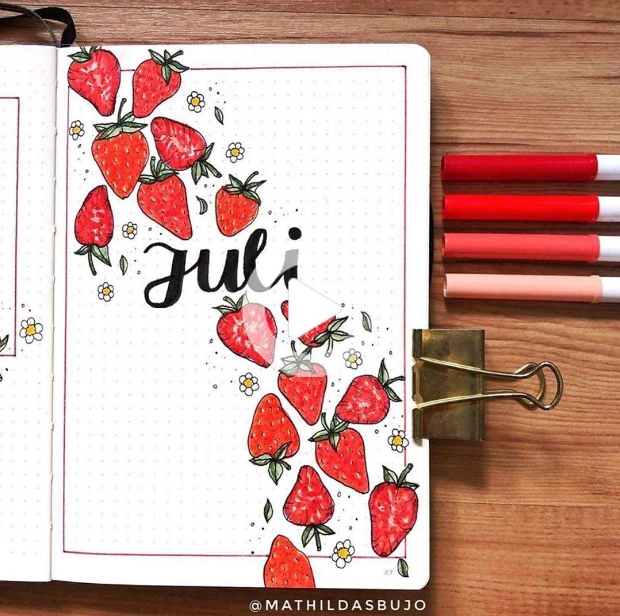 20 Fruit Bullet Journal Spreads Ideas   bulletjournalideas ...