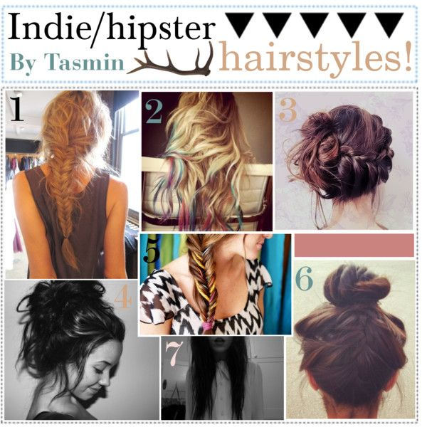 indie hipster hairstyles pretty