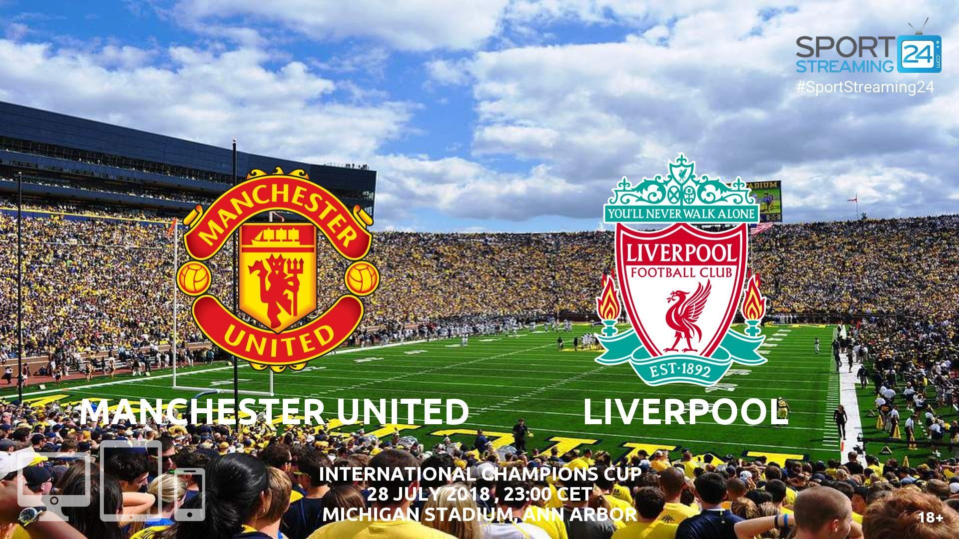 Streaming News And Match Previews Sportstreaming24 United Liverpool Manchester United Liverpool Live