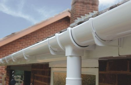 Efficient High Capacity Upvc Guttering And Downpipes For
