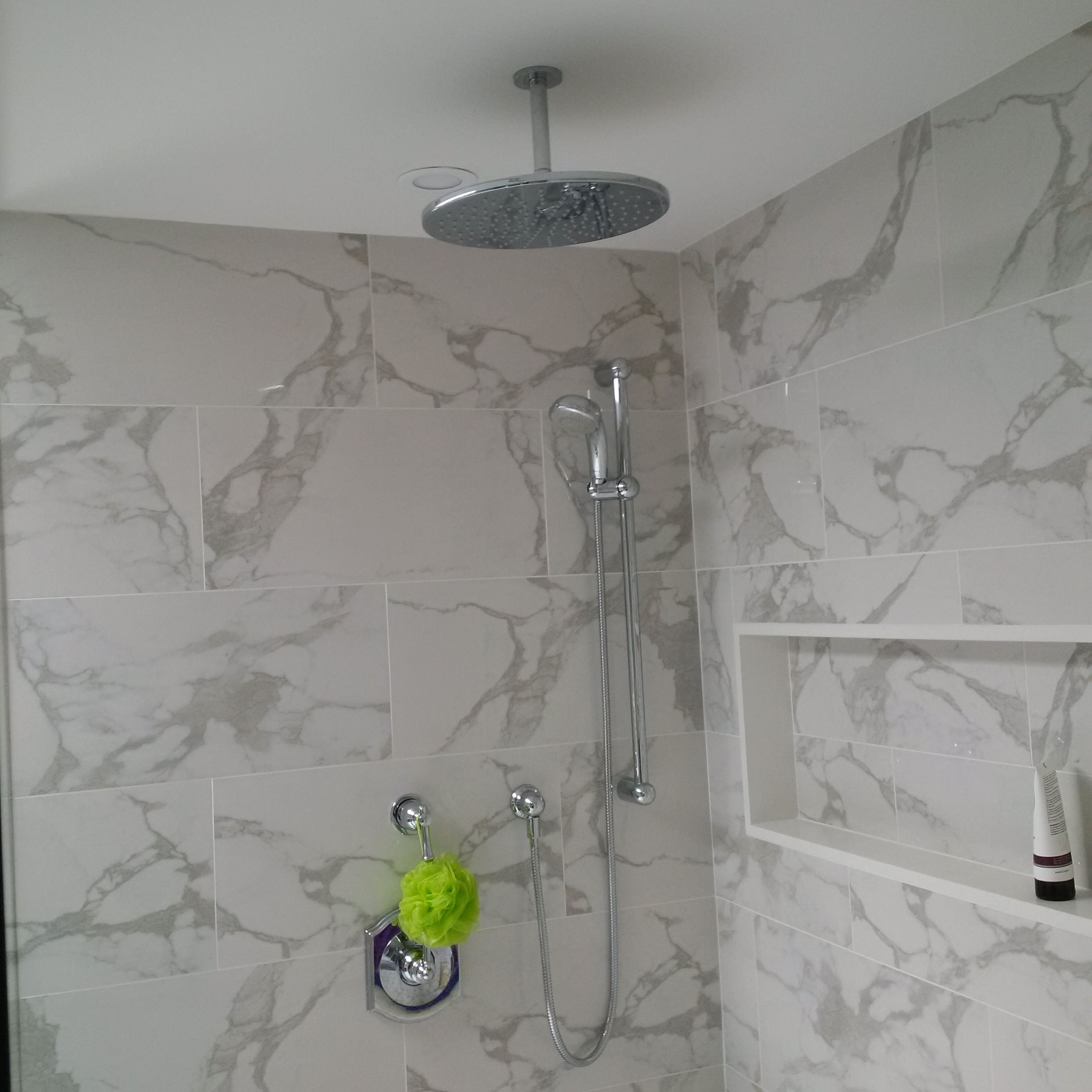 American Standard Venetian Chrome Trim with a Riobel 6006 Shower Arm ...