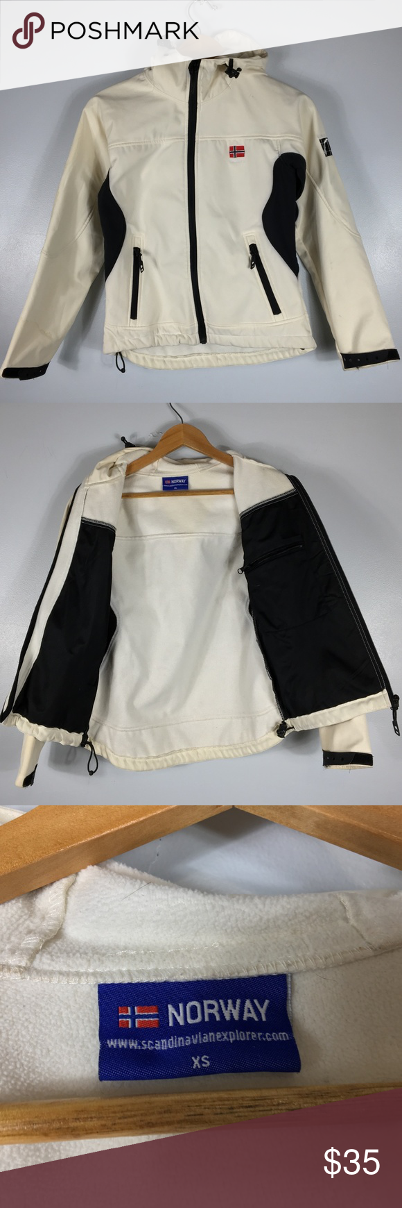 Norway Ivory Scandinavian Explorer Jacket Size Xs Jackets Clothes Design Women Shopping