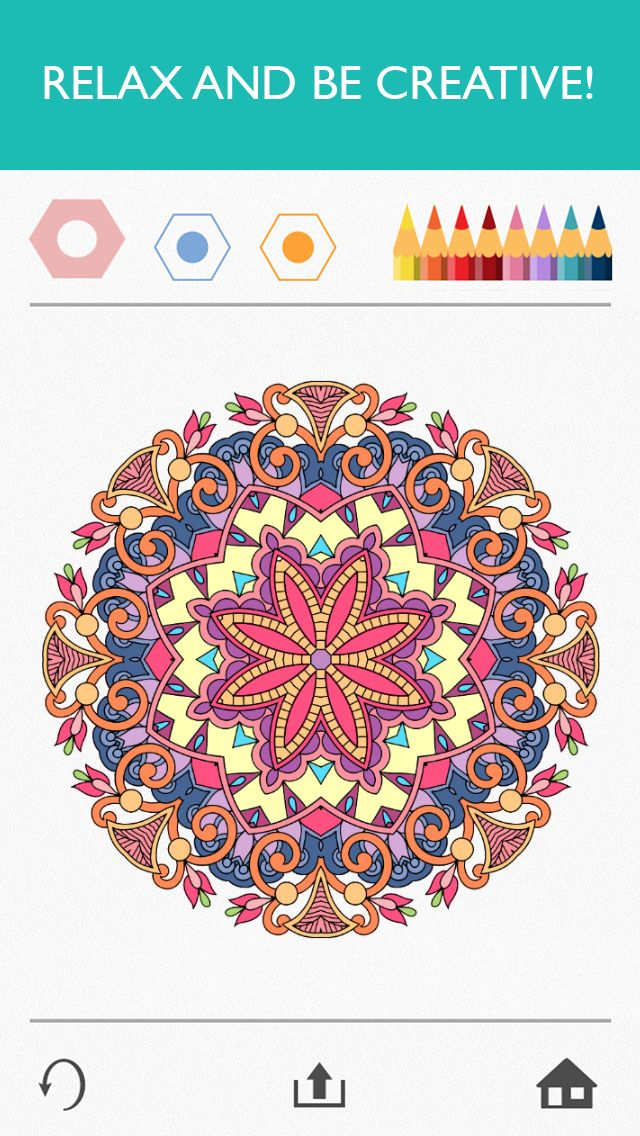 Colorfy: Coloring Book App for Adults - Free | Education | Pinterest ...