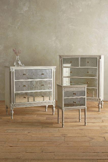 Mirelle Three Drawer Dresser - anthropologie #anthrofave For
