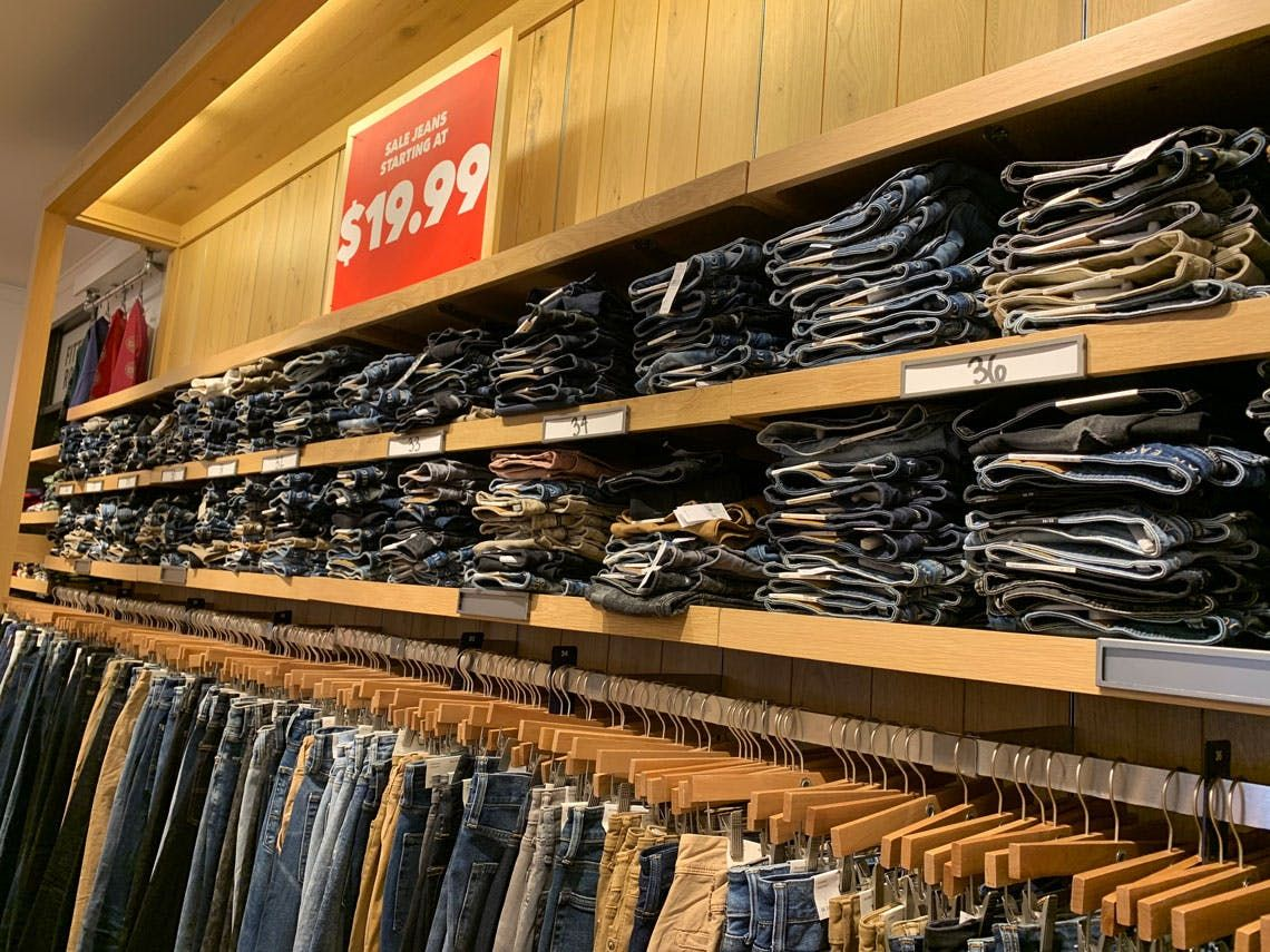 Clearance Jeans at American Eagle, Starting at $19.99
