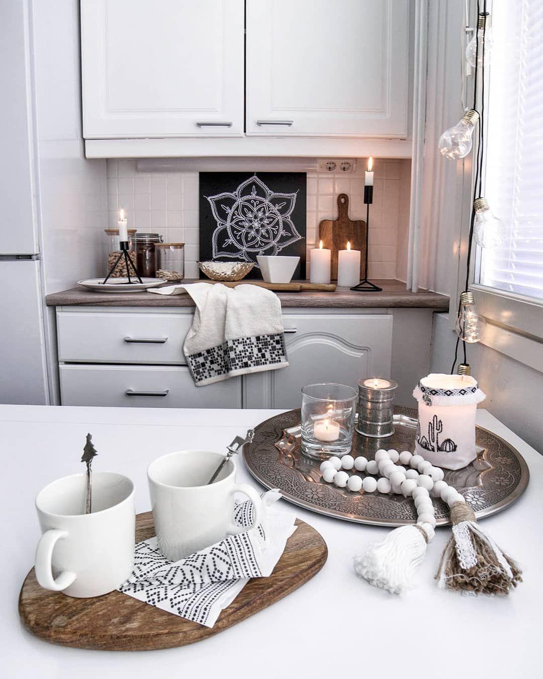 scandinavian bohemian chic kitchen decor with images chic kitchen decor kitchen decor kitchen on boho chic kitchen table decor id=63714