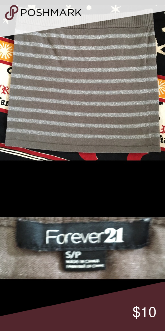 Ⓜ️💫Forever 21 Mini Skirt.💫Ⓜ️ Ⓜ️💫Forever 21 Mini Skirt.💫Ⓜ️ Tiny and simple. A true butt hugger! Forever 21 Skirts Mini