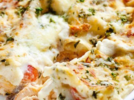 Receita de Lasanha de Bacalhau - lasanha, mussarela, molho, massa, bacalhau, massa, brócolis, molho branco, mussarela, parmesão, massa, mussarela, parmesão, gorgonzola, mussarela,...