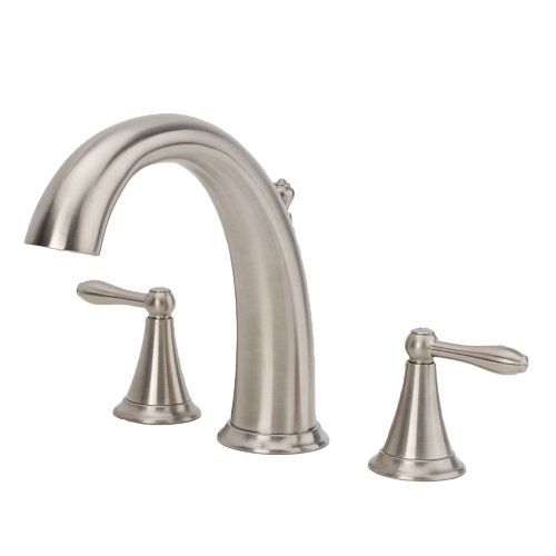 Fontaine Montbeliard 2handle Roman Tub Faucet in Brushed