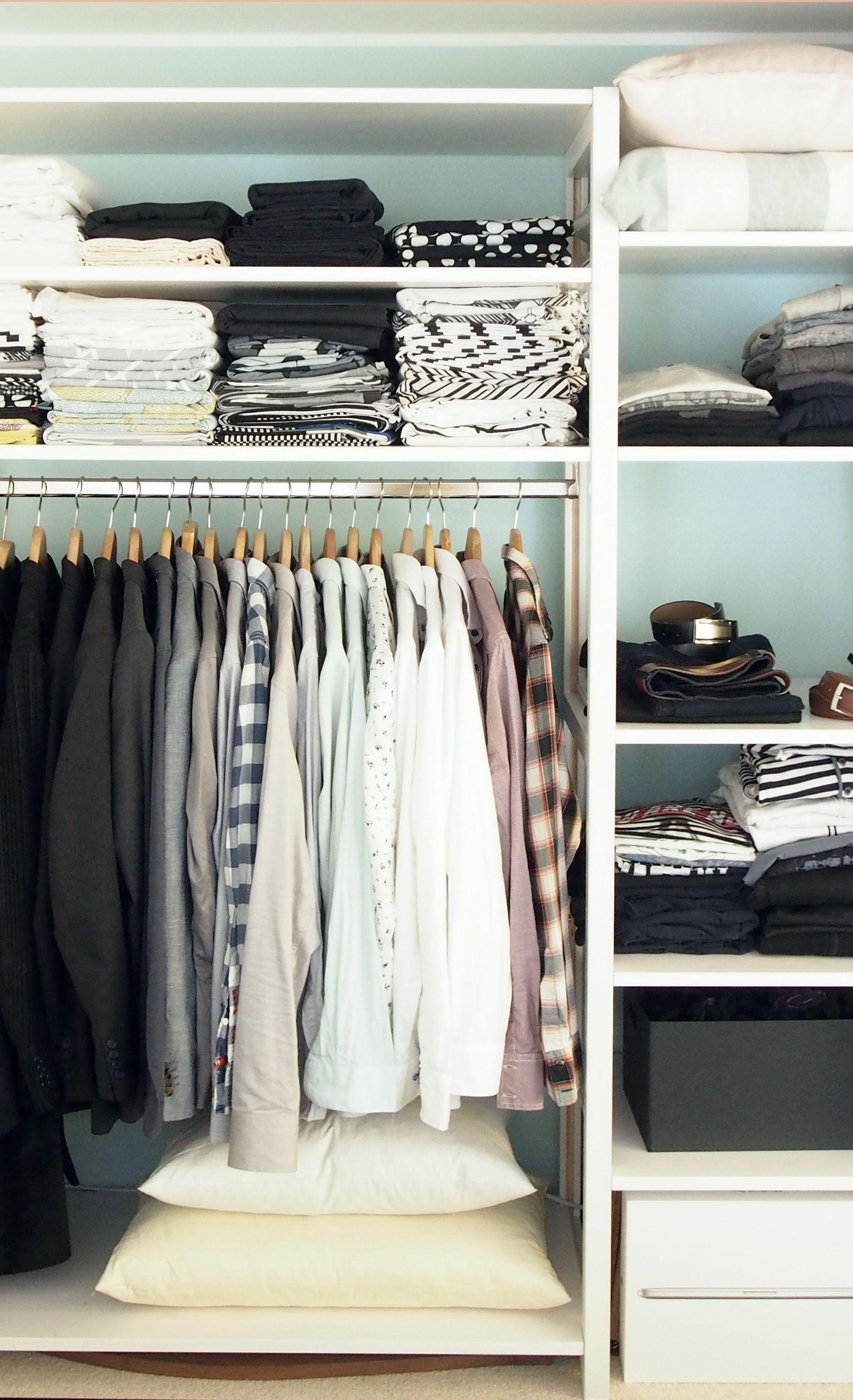 Wardrobe Hangers Storage