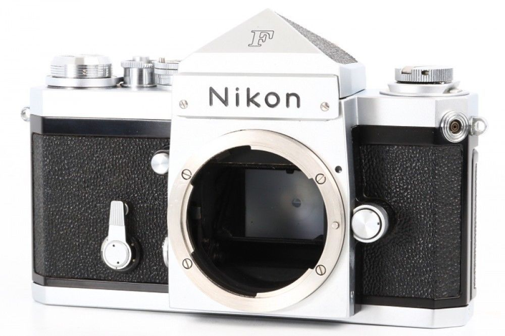 Details About Nikon F3 Eye Level 35mm Slr Film Camera Body From