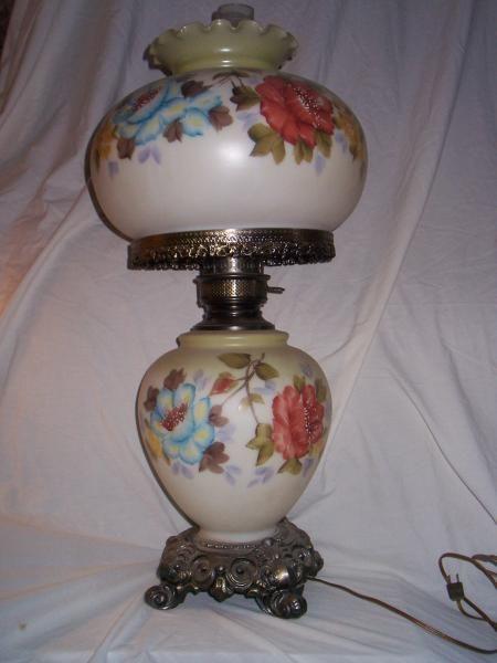 Antique Vintage Hurricane Lamp Antique Appraisal | InstAppraisal