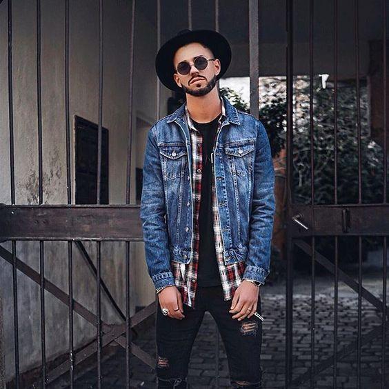 Macho Moda - Blog de Moda Masculina  CAMISA XADREZ MASCULINA  Como Usar e  Onde Encontrar  Como usar Camisa Xadrez 191bdbc948a