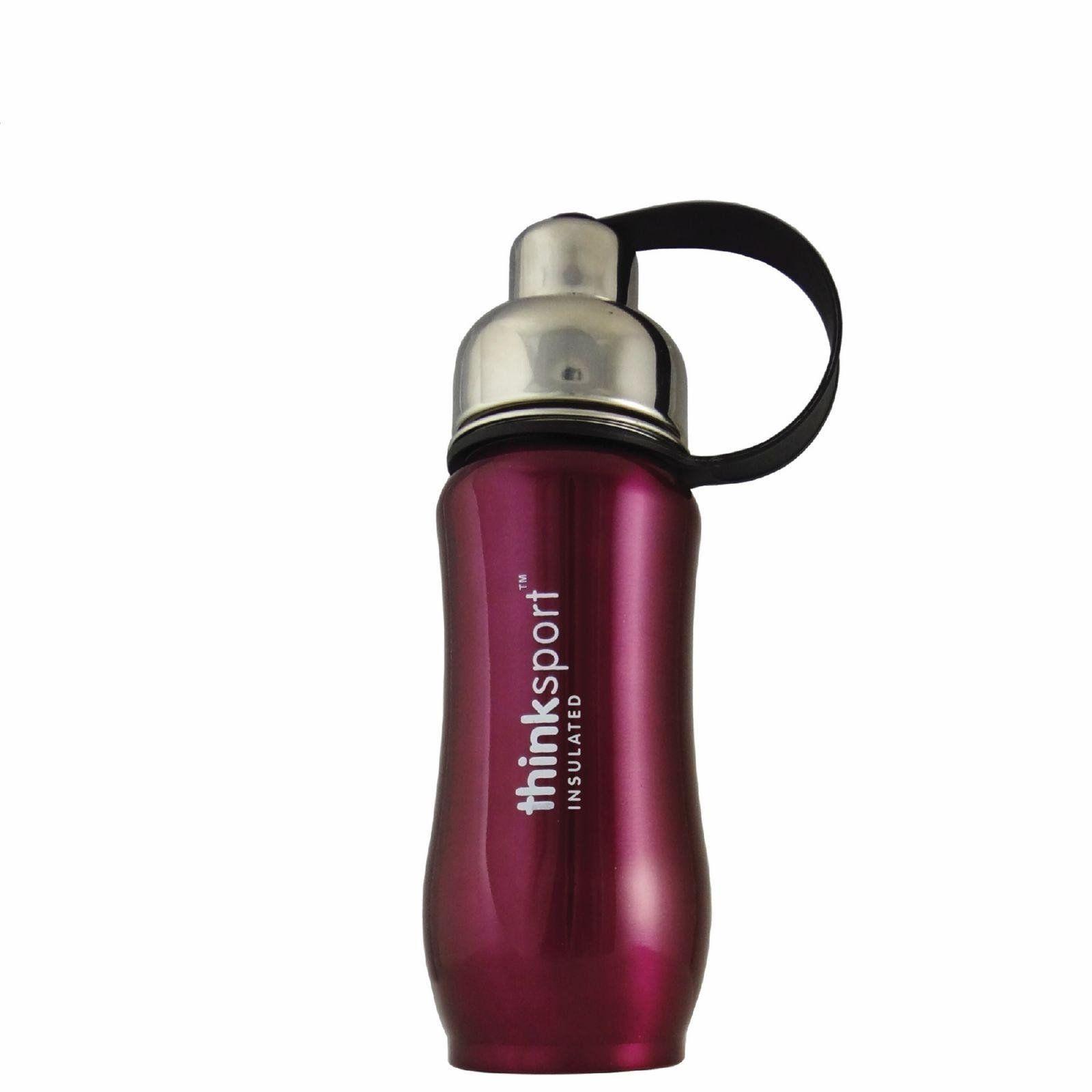 Thinksport Insulated Sport Bottle Purple 12 Oz