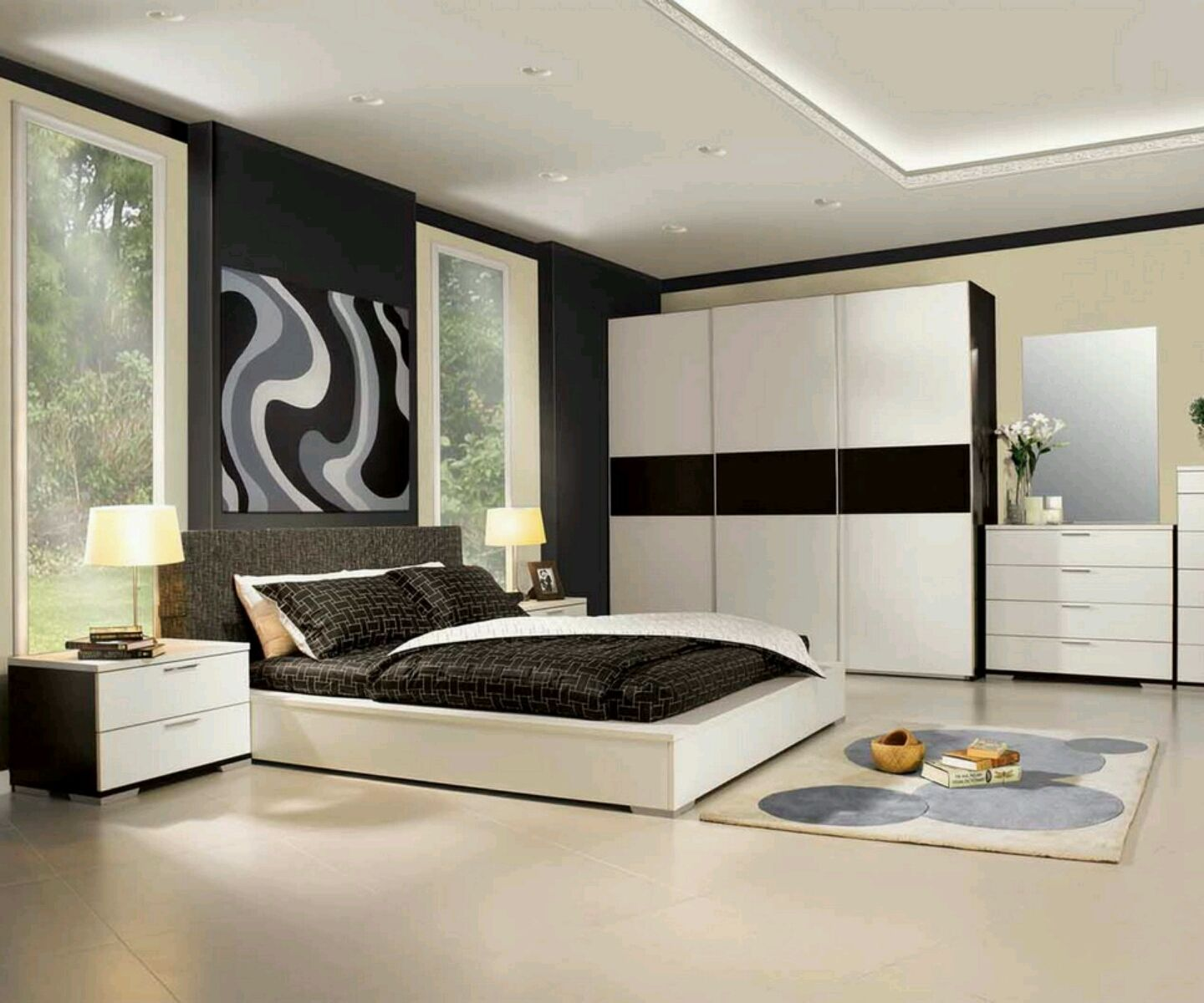 Pesona Shop Home Design  Modern luxury bedroom, Bedroom furniture