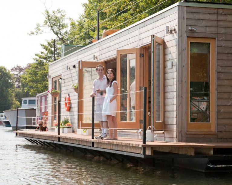 Dun Laoghaire Harbour S Floating Homes Tender Goes Live Floating House House Boat Houseboat Living