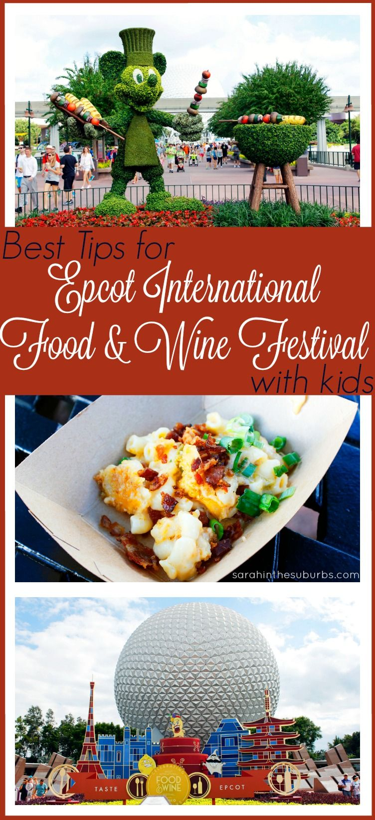 Best Tips For Epcot Food And Wine Festival With Kids With Images Disney World Food Epcot Epcot Food