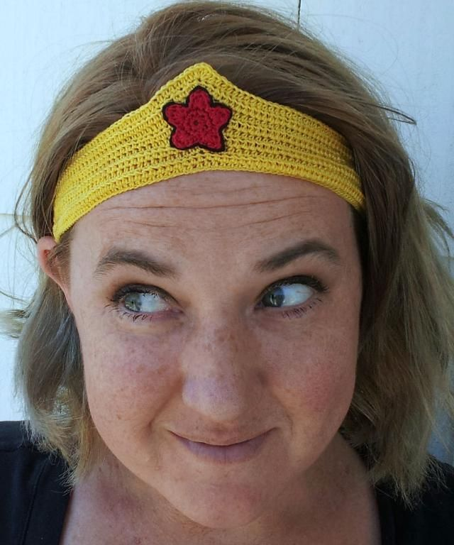 Wonder Woman Running Tiara | For Runners and Rollergirls | Pinterest