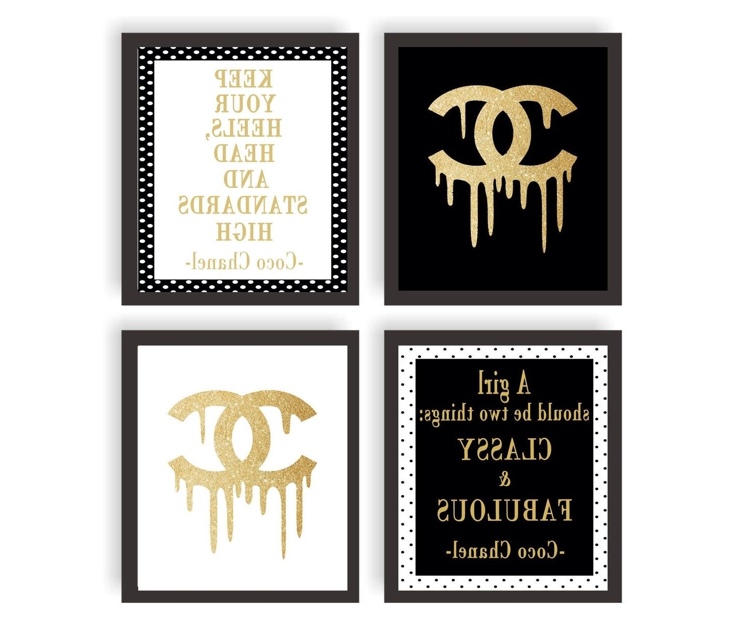 Chanel Label Printable 15 Collection Of Coco Chanel Quotes Framed Wall Art Popisgrzegorz Com Chanel Wall Art Wall Art Quotes Diy Wall Art Quotes
