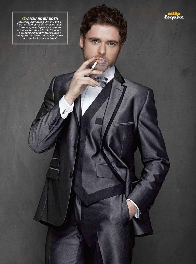 Richard Madden photographed by Leonardo Manzo for Esquire Mexico, May 2012