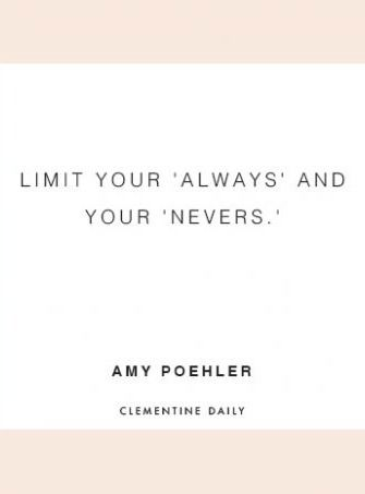 Daily Thought - Clementine Daily