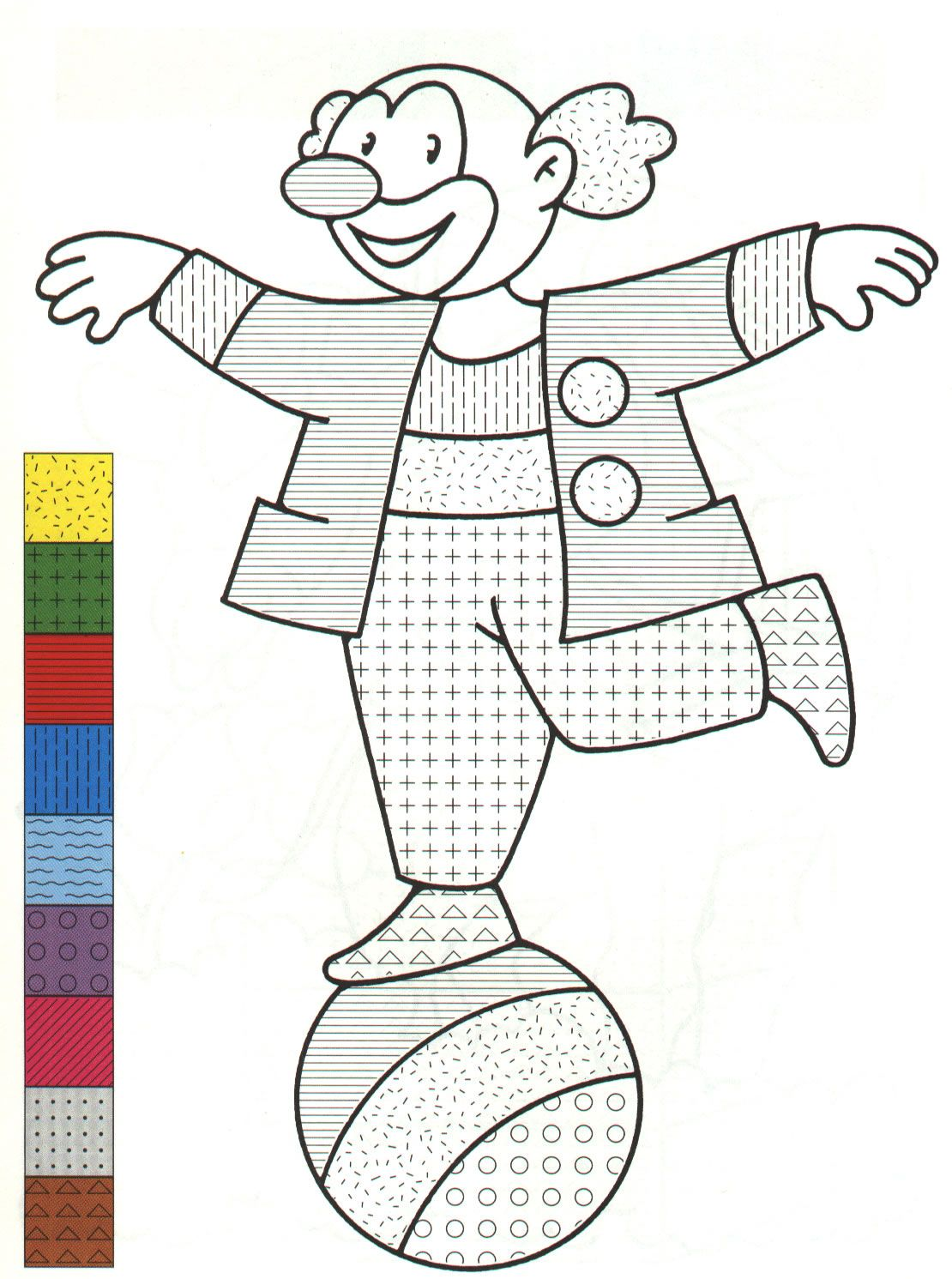 Color Pattern - 999 Coloring Pages | Color by Number for Adults and ...