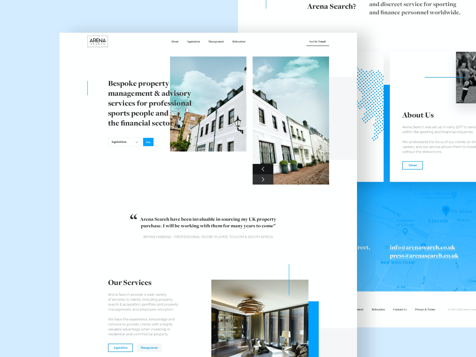 Arena Search Homepage Design In 2020 Homepage Design Web Layout Design Design