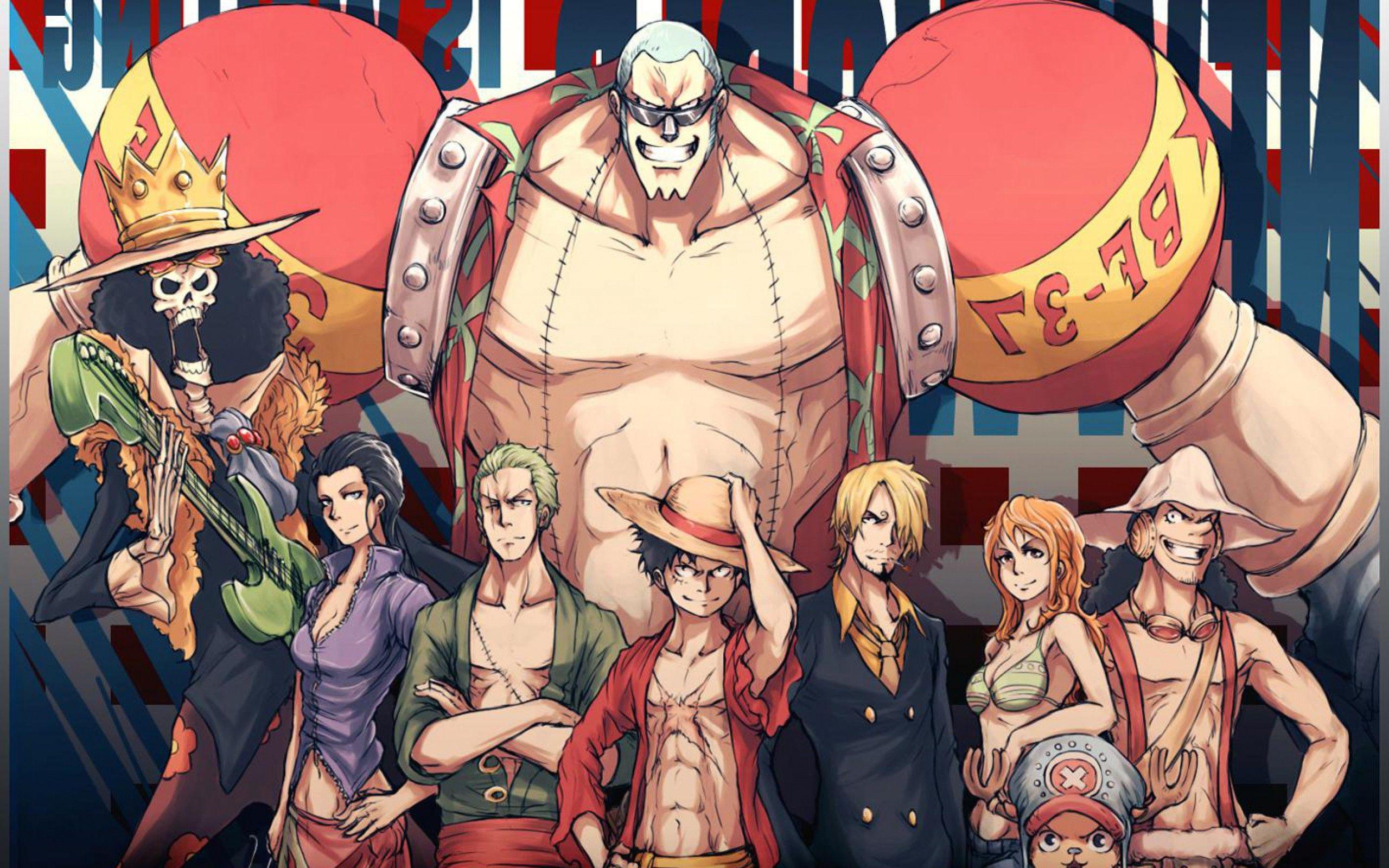 best crew one piece anime hd desktop wallpapers picture wallpaper