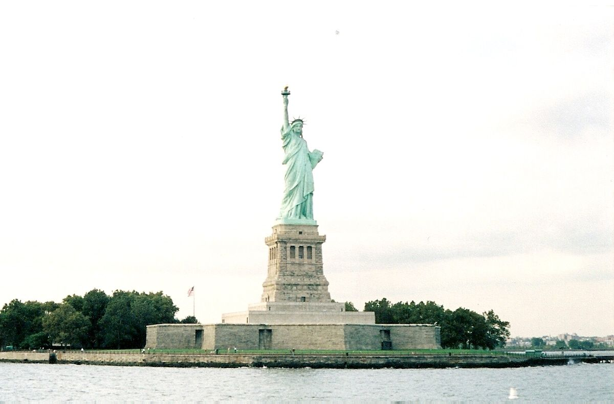 Lady Liberty - A lighthouse; and a symbol of hope & freedom.