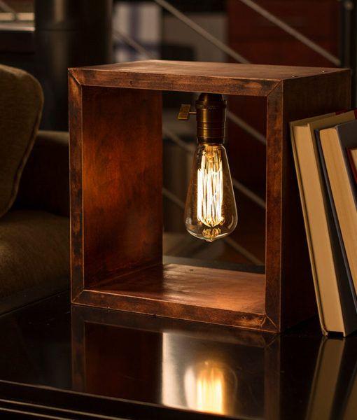 shadow box edison lamp product lampen pinterest lampen beleuchtung und vintage lampen. Black Bedroom Furniture Sets. Home Design Ideas