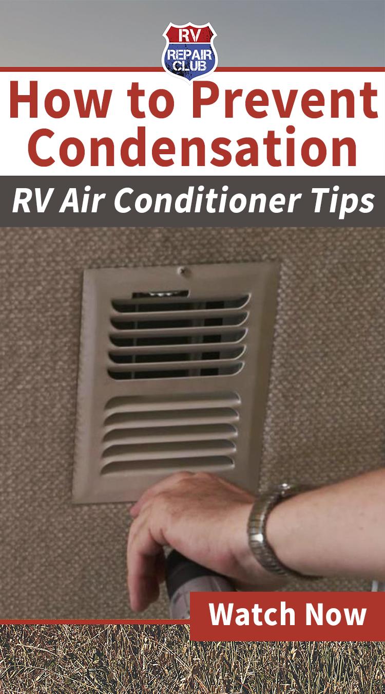 Air Conditioner Condensation Prevention Rv air