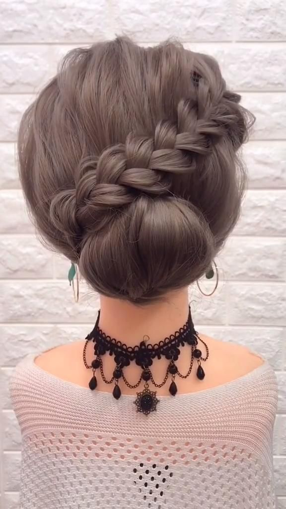 braided hair tutorial video Easy Medium Length Hairstyle Tutorial video 2020